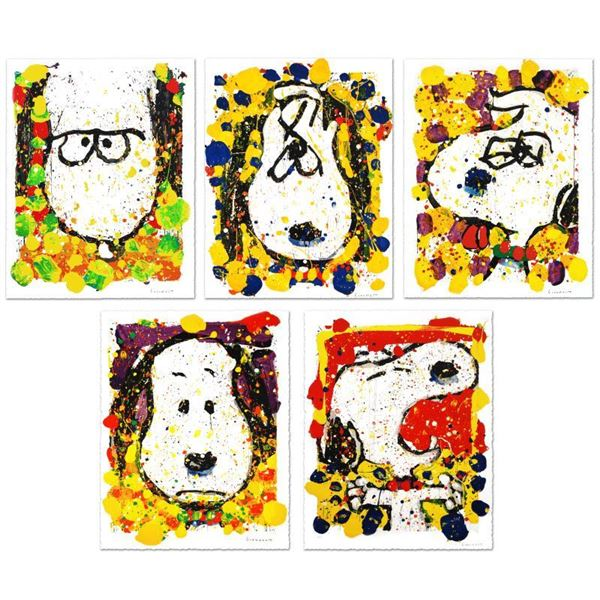 """Tom Everhart """"Squeeze the Day Suite - Matching #s"""" Limited Edition Lithograph"""