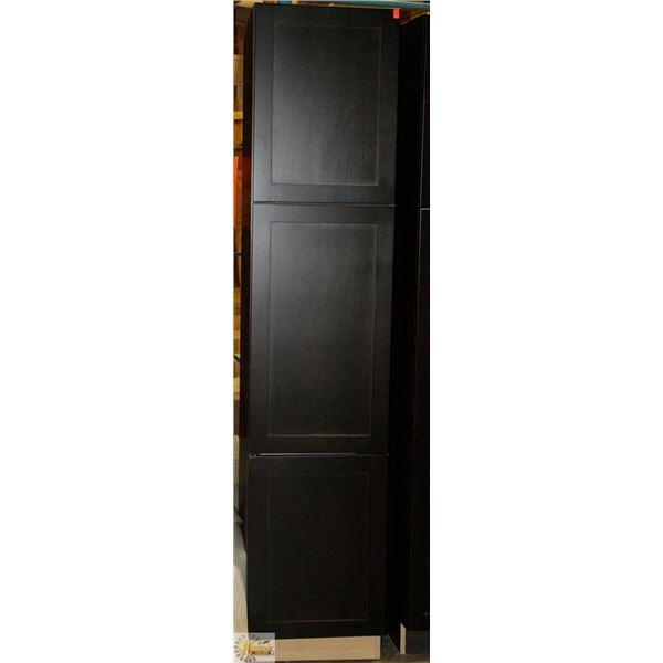 "TALL PANTRY 24"" D X 18"" W X 84"" T  C/W 3 RH DOORS"