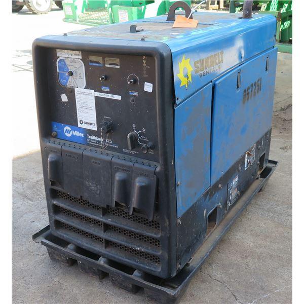 MAUI: Miller Trailblaizer DC Welder 12K-Watt Generator, Starts & Runs (See Video)