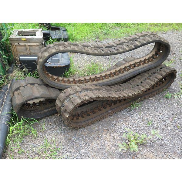 MAUI: Qty 3 Skidsteer Tracks