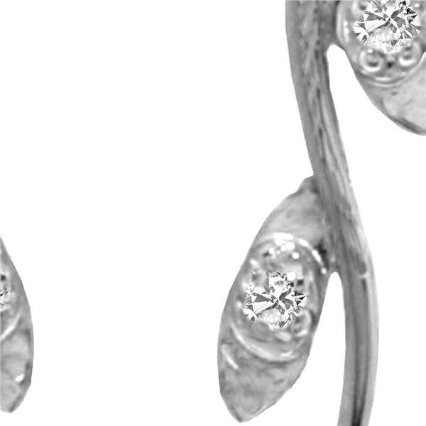 Genuine 10.02 ctw Pearl & Diamond Earrings 14KT White Gold - REF-33A8K