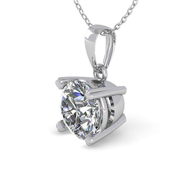 0.50 ctw VS/SI Diamond Designer Necklace 14k White Gold - REF-55H8R
