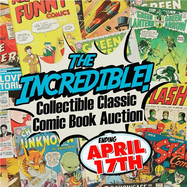 POP UP COMIC AUCTION ISSUE 1 OF 4