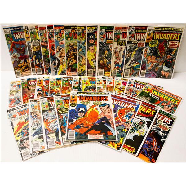 MARVEL COMICS THE INVADERS #1-33