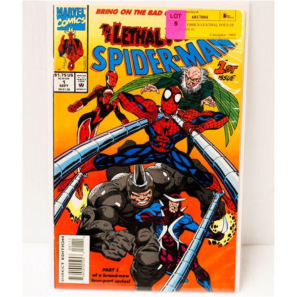 MARVEL COMICS LEATHAL FOES OF SPIDERMAN #1