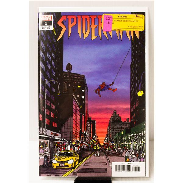 MARVEL COMICS SPIDERMAN #1 VARIANT