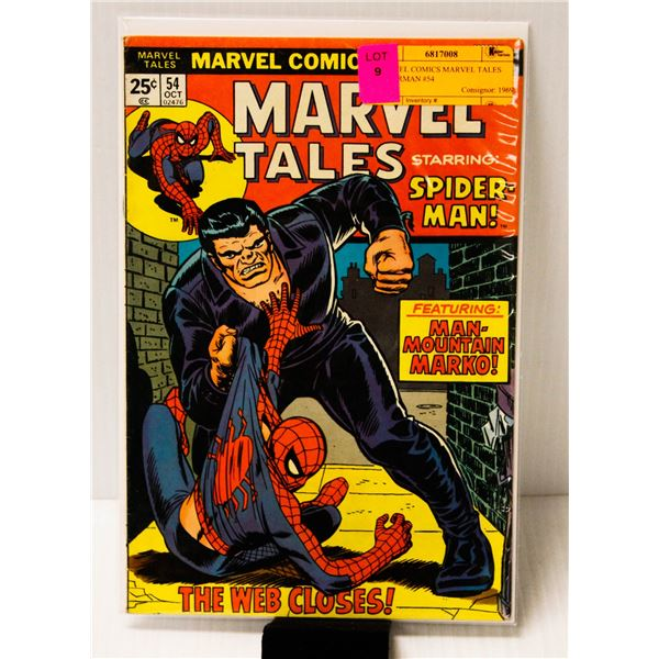 MARVEL COMICS MARVEL TALES SPIDERMAN #54