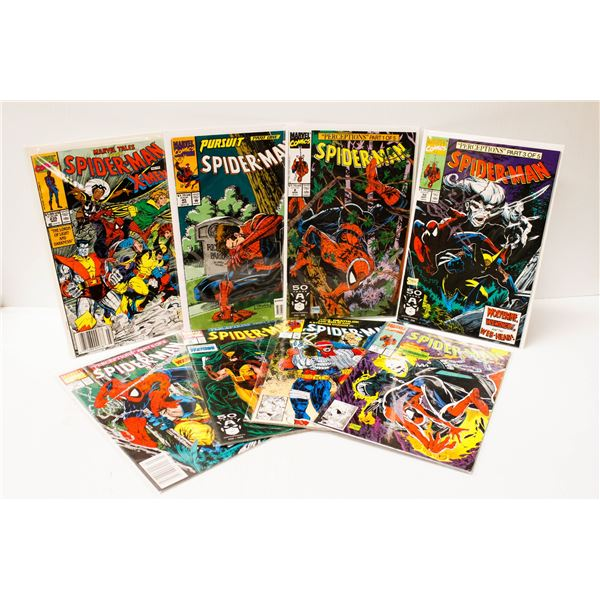 MARVEL COMICS SPIDERMAN#7,8,9,10,12,21,45,235