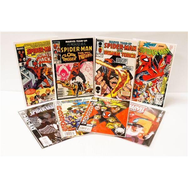 8 ASSORTED MARVEL SPIDERMAN COMICS