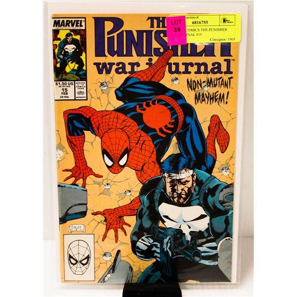 MARVEL COMICS THE PUNISHER WAR JOURNAL #15