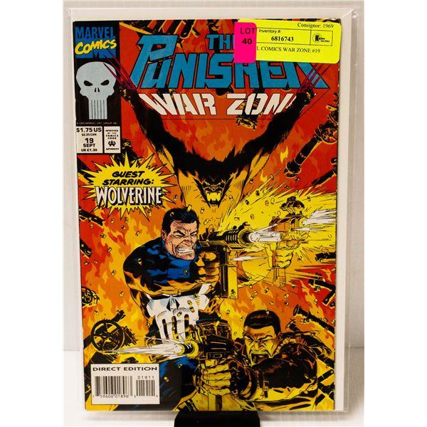 MARVEL COMICS WAR ZONE #19