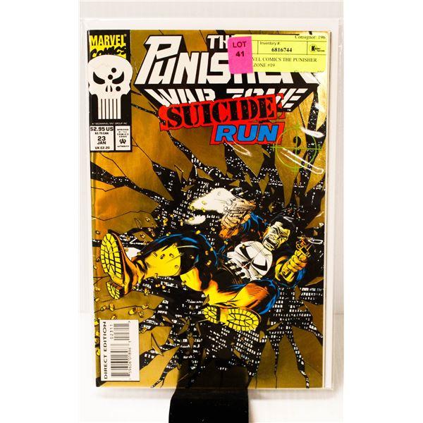MARVEL COMICS THE PUNISHER WAR ZONE #19