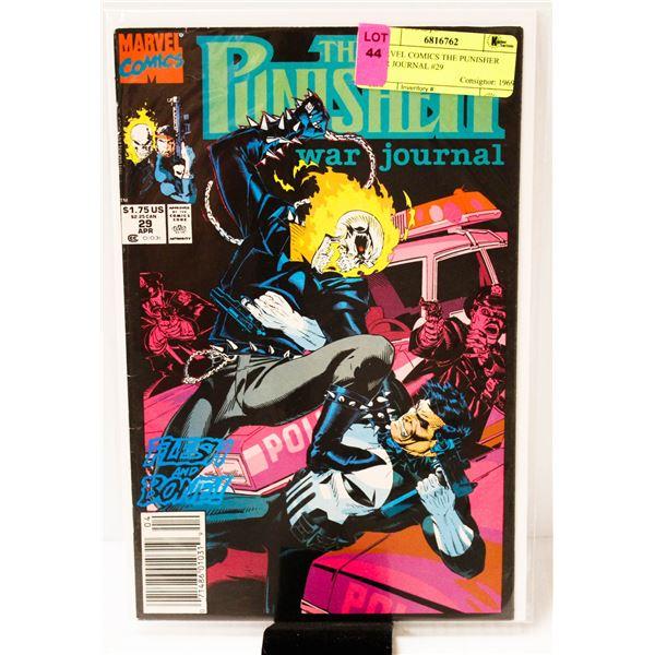 MARVEL COMICS THE PUNISHER WAR JOURNAL #29