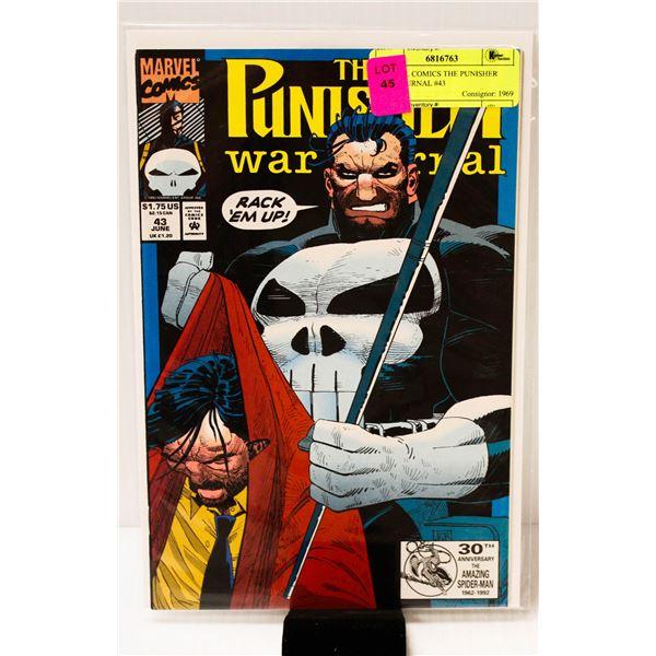 MARVEL COMICS THE PUNISHER WAR JOURNAL #43