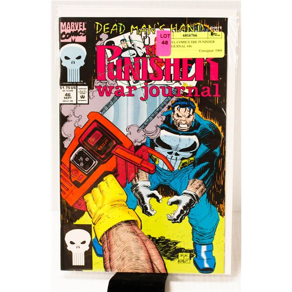 MARVEL COMICS THE PUNISHER WAR JOURNAL #46