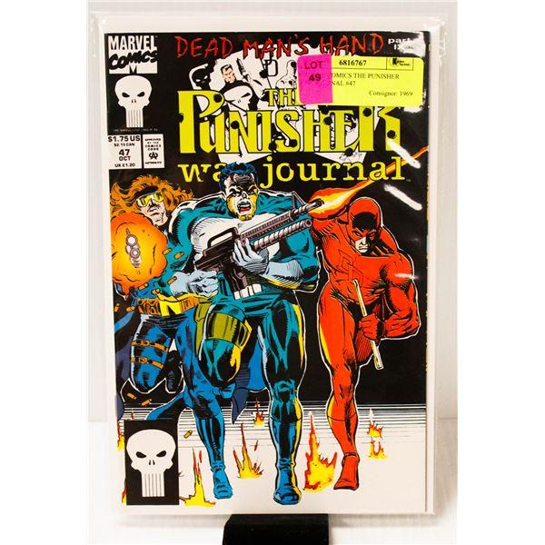 MARVEL COMICS THE PUNISHER WAR JOURNAL #47