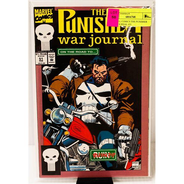 MARVEL COMICS THE PUNISHER WAR JOURNAL #51