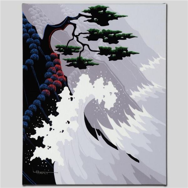"""Tsunami"" Limited Edition Giclee on Canvas by Larissa Holt, Numbered and Signed."