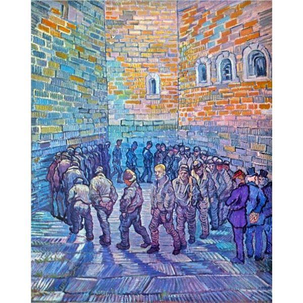 Van Gogh - Prisoners Walking The Round