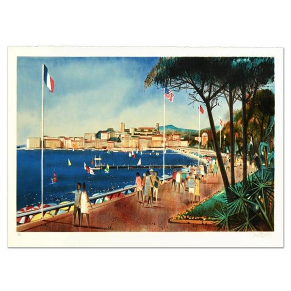 """Robert Vernet Bonfort, """"Antiber"""" Limited Edition Lithograph, Numbered and Hand S"""