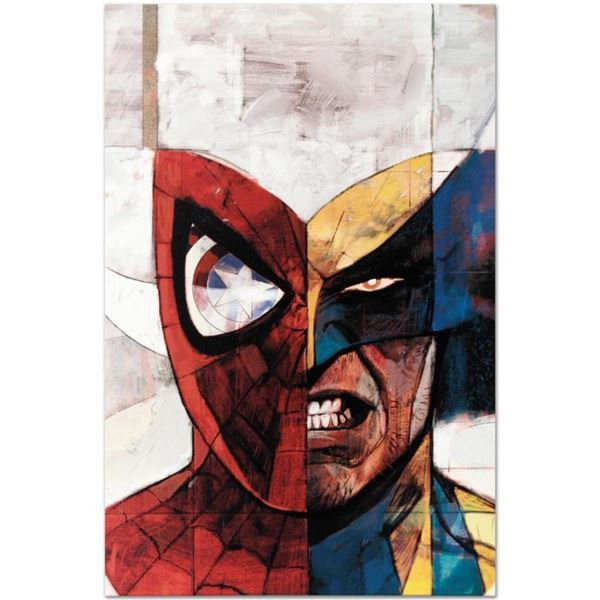 """Marvel Comics """"Moon Knight #5"""" Numbered Limited Edition Giclee on Canvas by Alex"""