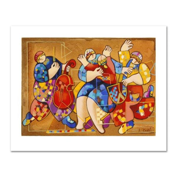 """Dorit Levi, """"Salsa Fun"""" Limited Edition Serigraph, Numbered and Hand Signed with"""