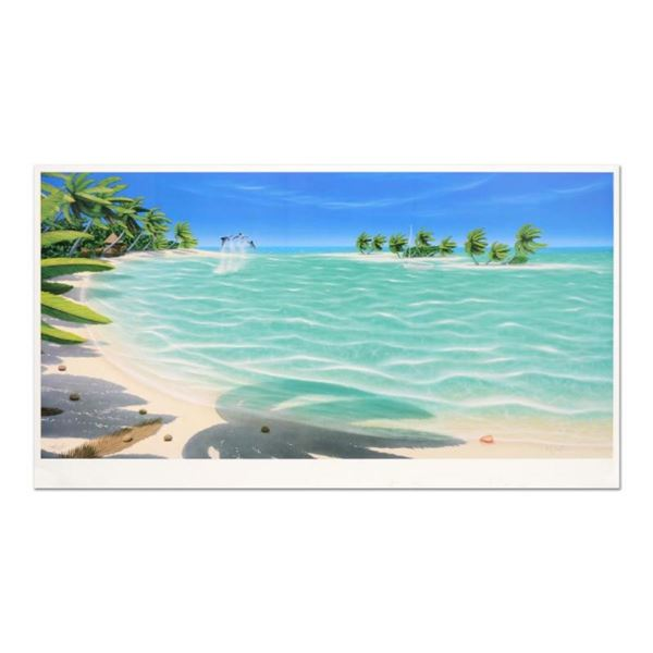 """Dan Mackin, """"Tropical Breeze"""" Limited Edition Lithograph, Numbered and Hand Sign"""