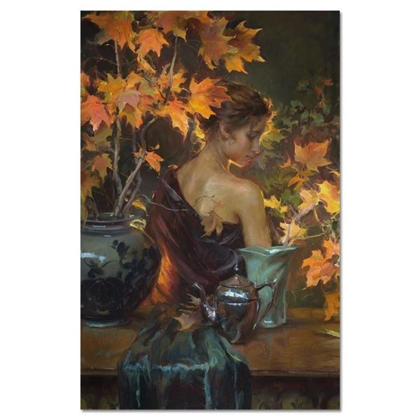 "Dan Gerhartz, ""October Glow"" Limited Edition on Canvas, Numbered and Hand Signed"