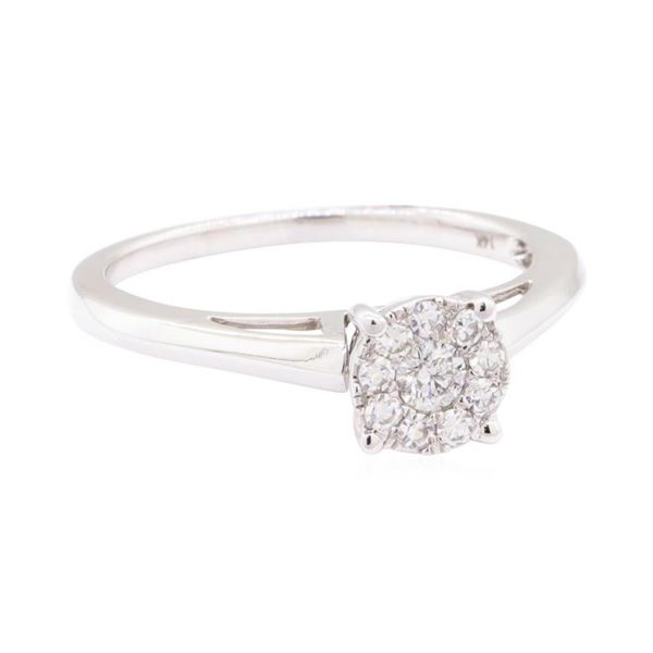 0.27 ctw Diamond Ring - 14KT White Gold