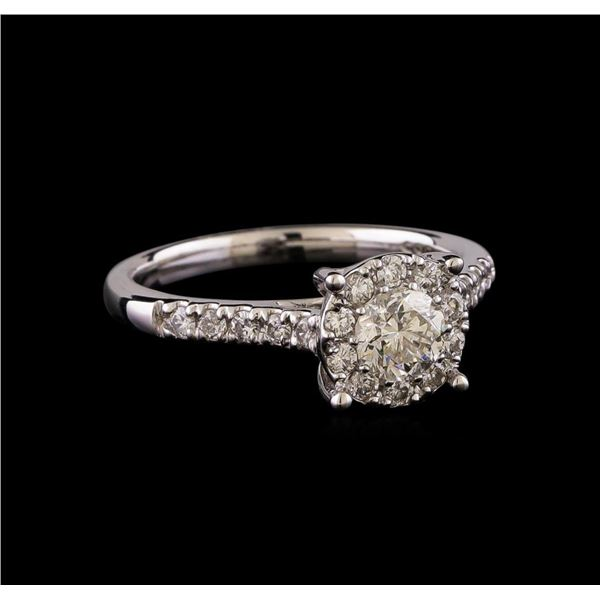 0.85 ctw Diamond Ring - 14KT White Gold