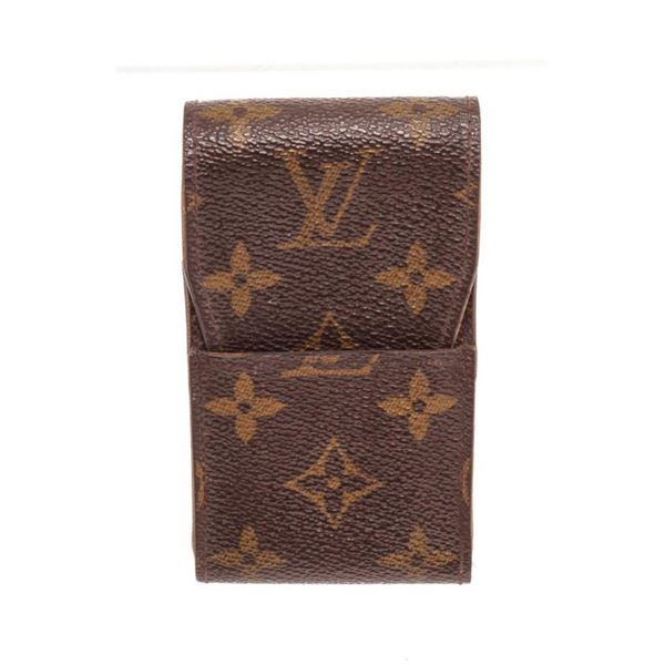Louis Vuitton Brown Monogram Cigarette Case Wallet