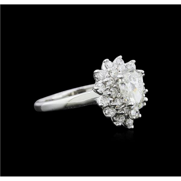 1.55 ctw Diamond Ring - 14KT White Gold