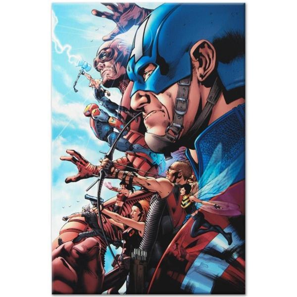 "Marvel Comics ""Avengers #1"" Numbered Limited Edition Giclee on Canvas by Bruce T"