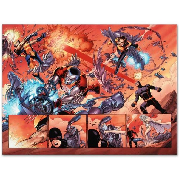 "Marvel Comics ""Astonishing X-Men N12"" Numbered Limited Edition Giclee on Canvas"