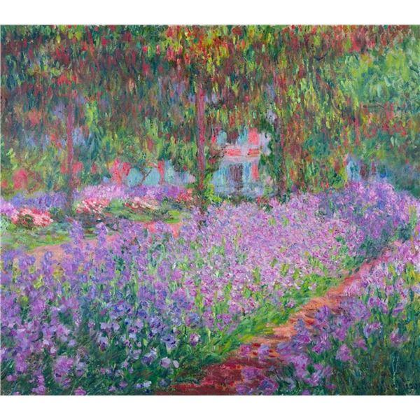Claude Monet - Artists Garden