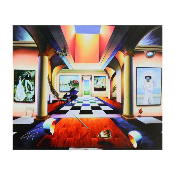 """Ferjo, """"Room of Splendor"""" Limited Edition on Canvas, Numbered and Signed with Le"""