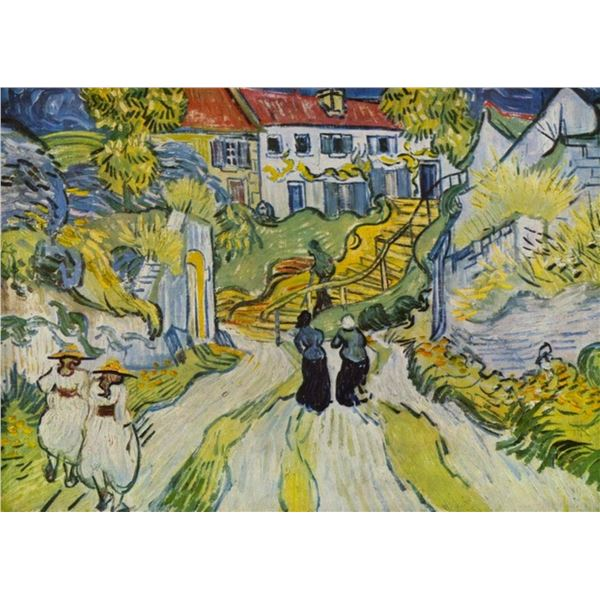 Van Gogh - Street And Road In Auvers