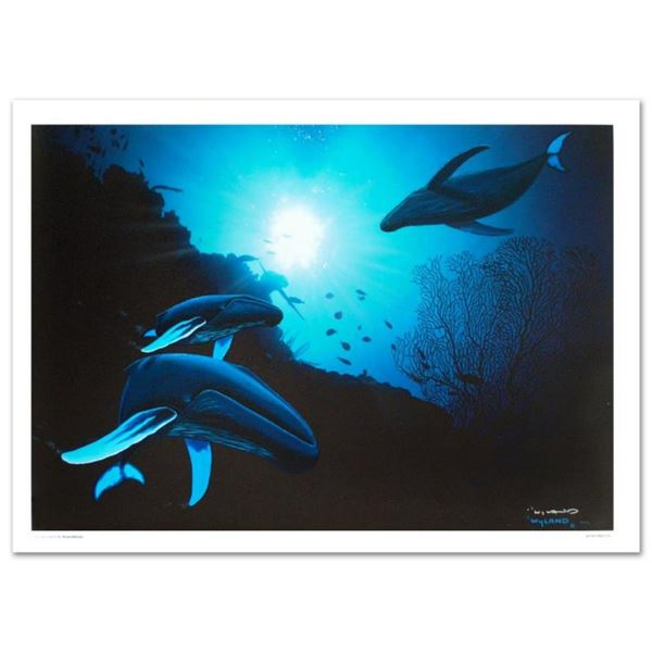 """""""Whale Vision"""" Limited Edition Giclee on Canvas (42"""" x 30"""") by renowned artist W"""