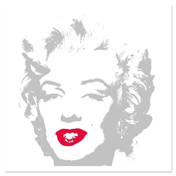 """Andy Warhol """"Golden Marilyn 11.35"""" Limited Edition Silk Screen Print from Sunday"""