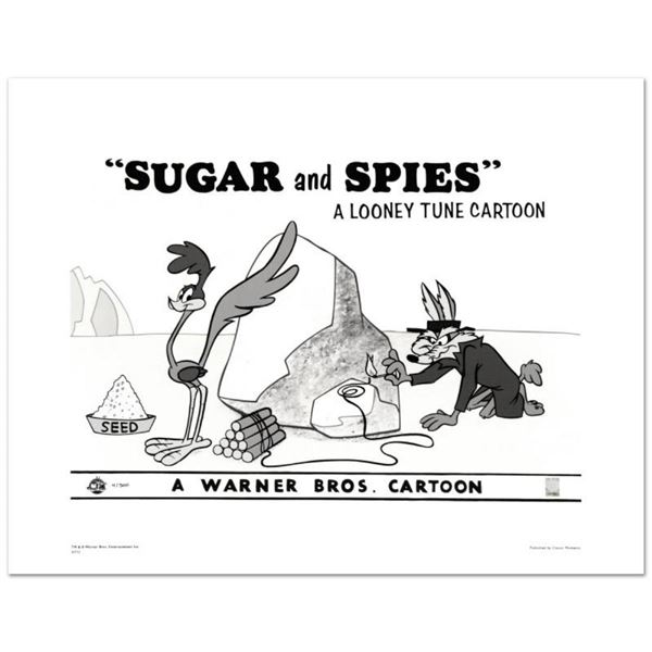 """""""Sugar and Spies"""" Limited Edition Giclee from Warner Bros., Numbered with Hologr"""