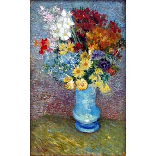 Van Gogh - Flowers In A Blue Vase