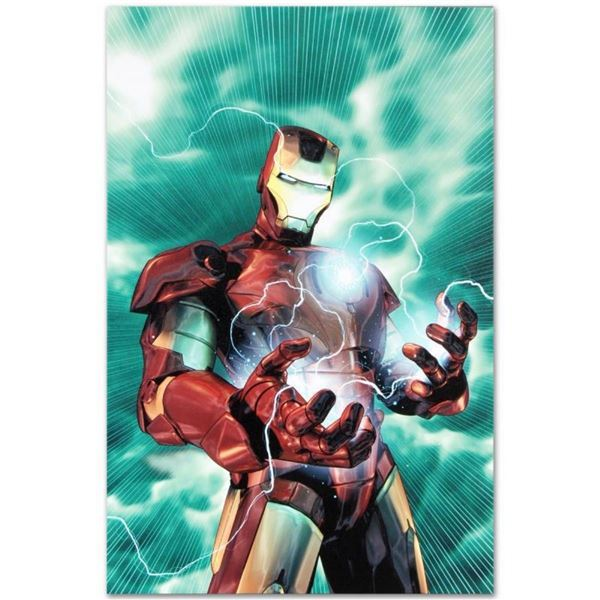 """Marvel Comics """"Iron Man Legacy #2"""" Numbered Limited Edition Giclee on Canvas by"""