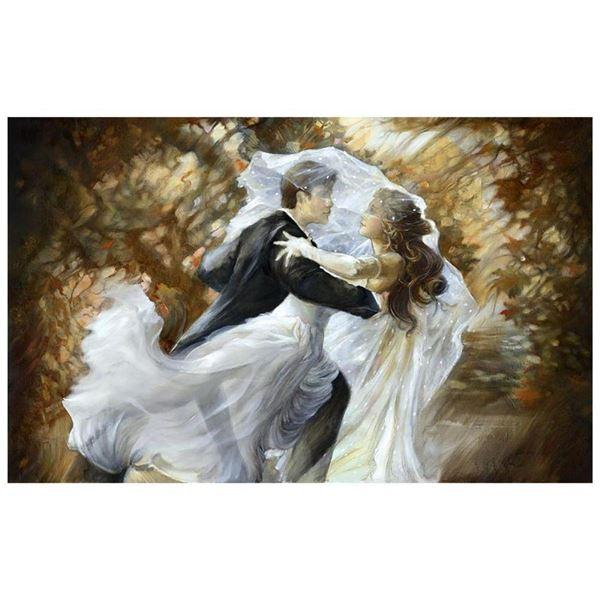 """Lena Sotskova, """"Together Forever"""" Hand Signed, Artist Embellished Limited Editio"""
