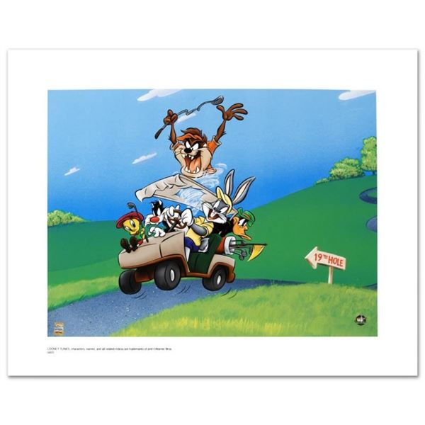 """To The 19th Hole"" Limited Edition Giclee from Warner Bros., Numbered with Holog"