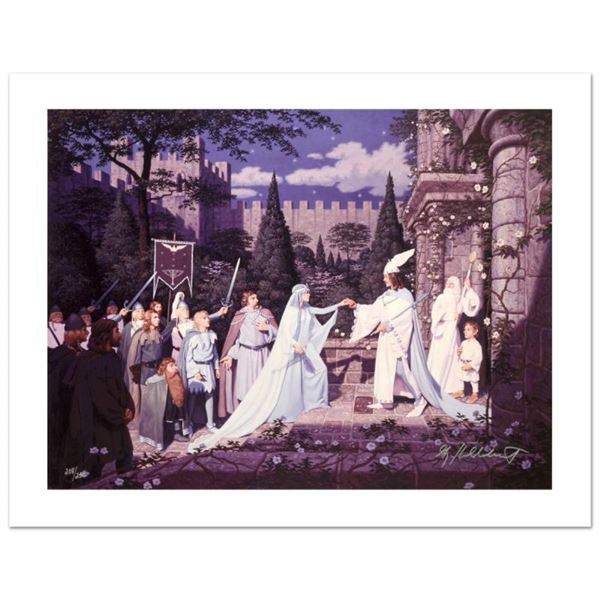 """""""The Wedding Of The King"""" Limited Edition Giclee on Canvas by The Brothers Hilde"""