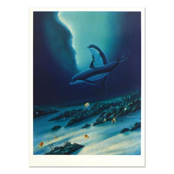 """Wyland, """"Ocean Children"""" Limited Edition Lithograph, Numbered and Hand Signed wi"""