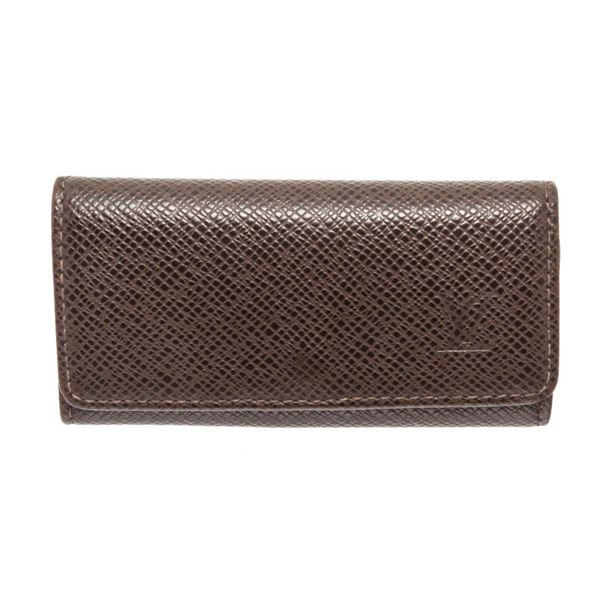 Louis Vuitton Brown 4 key Holder Wallet