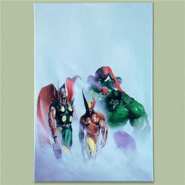 "Marvel Comics ""Secret War VI #1"" Numbered Limited Edition Giclee on Canvas by Ga"