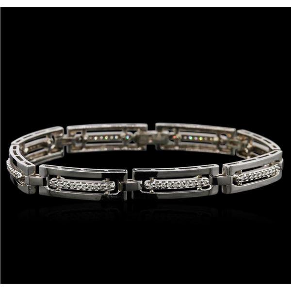 0.95 ctw Diamond Bracelet - 14KT White Gold