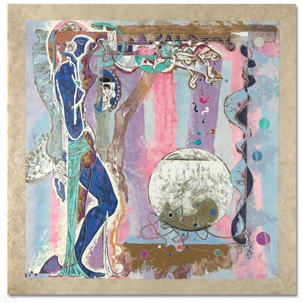 """""""Concerto"""" Limited Edition Serigraph on Rice Paper (38"""" x 39"""") by Renowned Artis"""